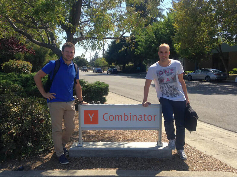 Apify founders at Y Combinator